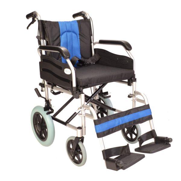 Deluxe attendant wheelchair ECTR02 1