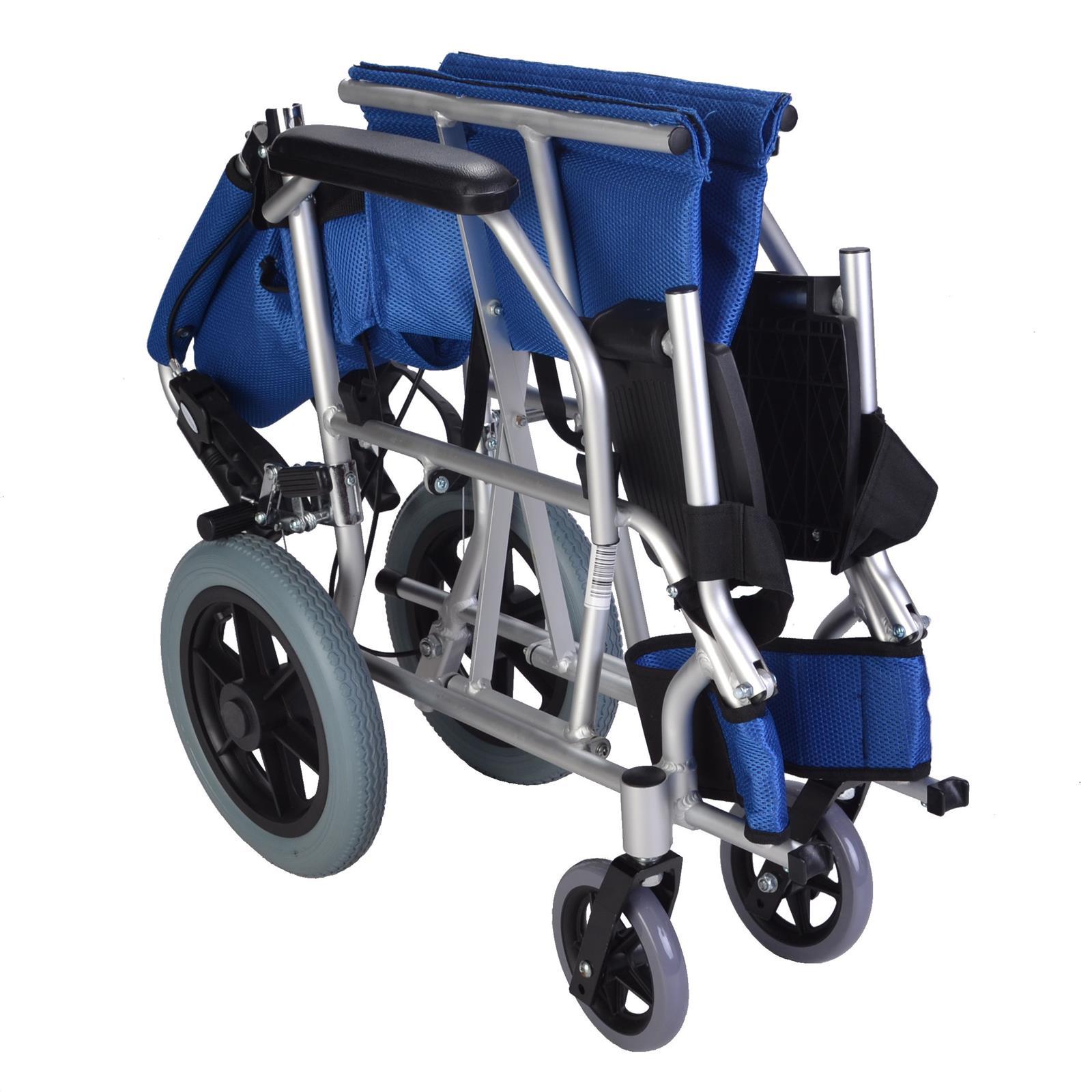 Lightweight Folding Compact Wheelchair Ec1863 Elite Care