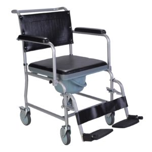 ECCOM3 Mobile wheeled commode 1