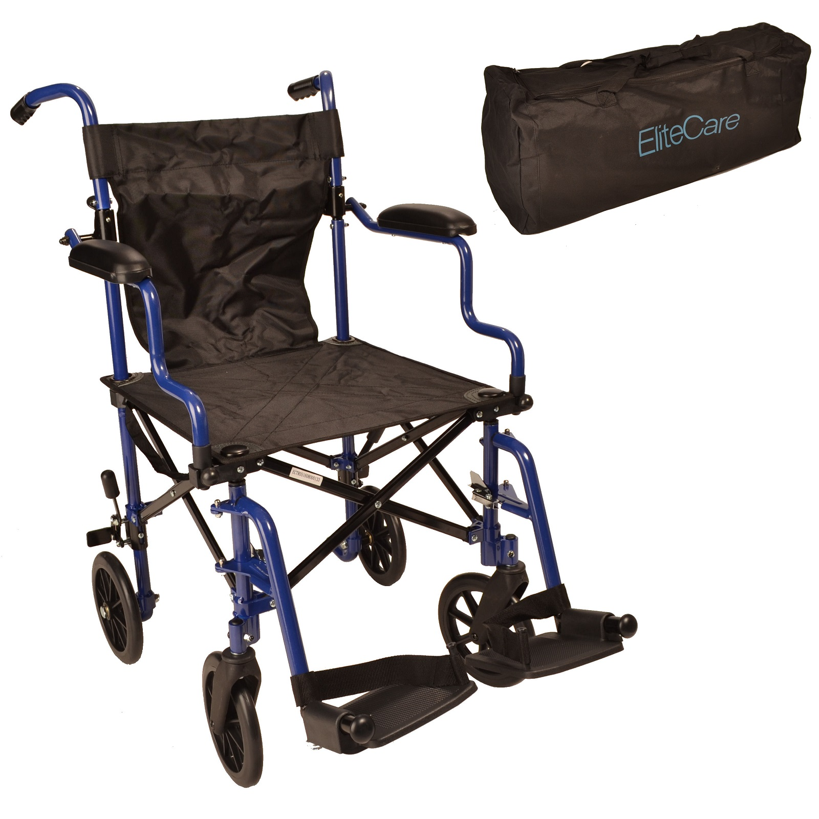 Wheelchair In A Bag Lightweight And Folding Ectr05 Elite