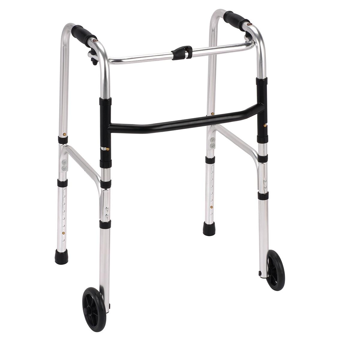 Folding Walking Frame with wheels