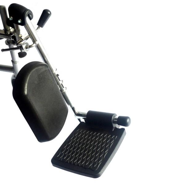 Elevated wheelchair legrest left
