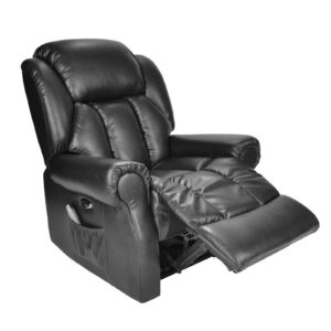 Hainworth electric recliner black 2