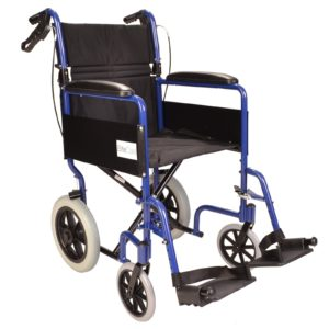 Lightweight folding wheelchair ECTR01 1