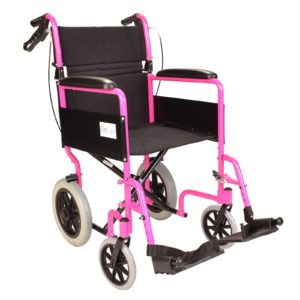 Pink wheelchair ECTR01 1