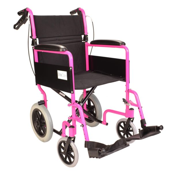 Pink wheelchair ECTR01 1