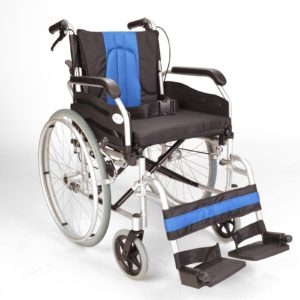 Self propel wheelchair with handbrakes ECSP01