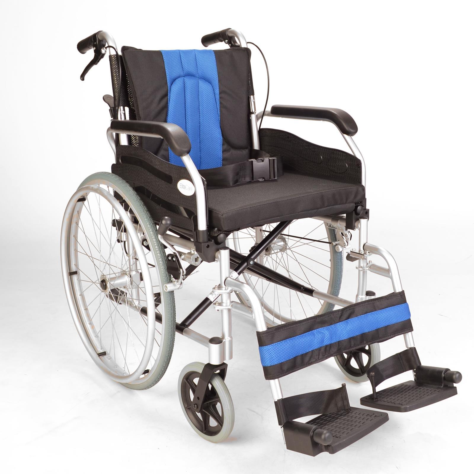 Self propel aluminium wheelchair with handbrakes ECSP01 Elite
