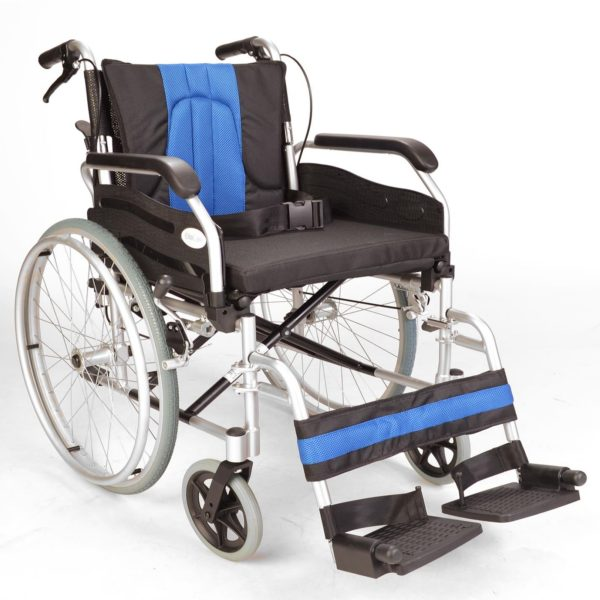 Self propel wide wheelchair with handbrakes ECSP01-20 1