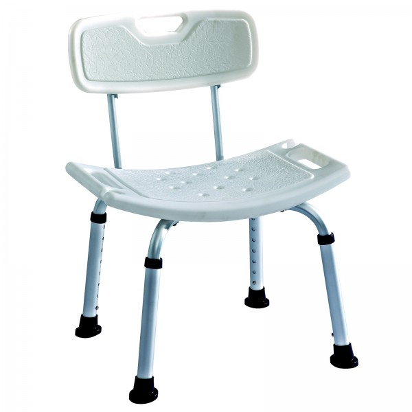 shower bath seat with back