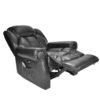 Hainworth electric recliner black 1