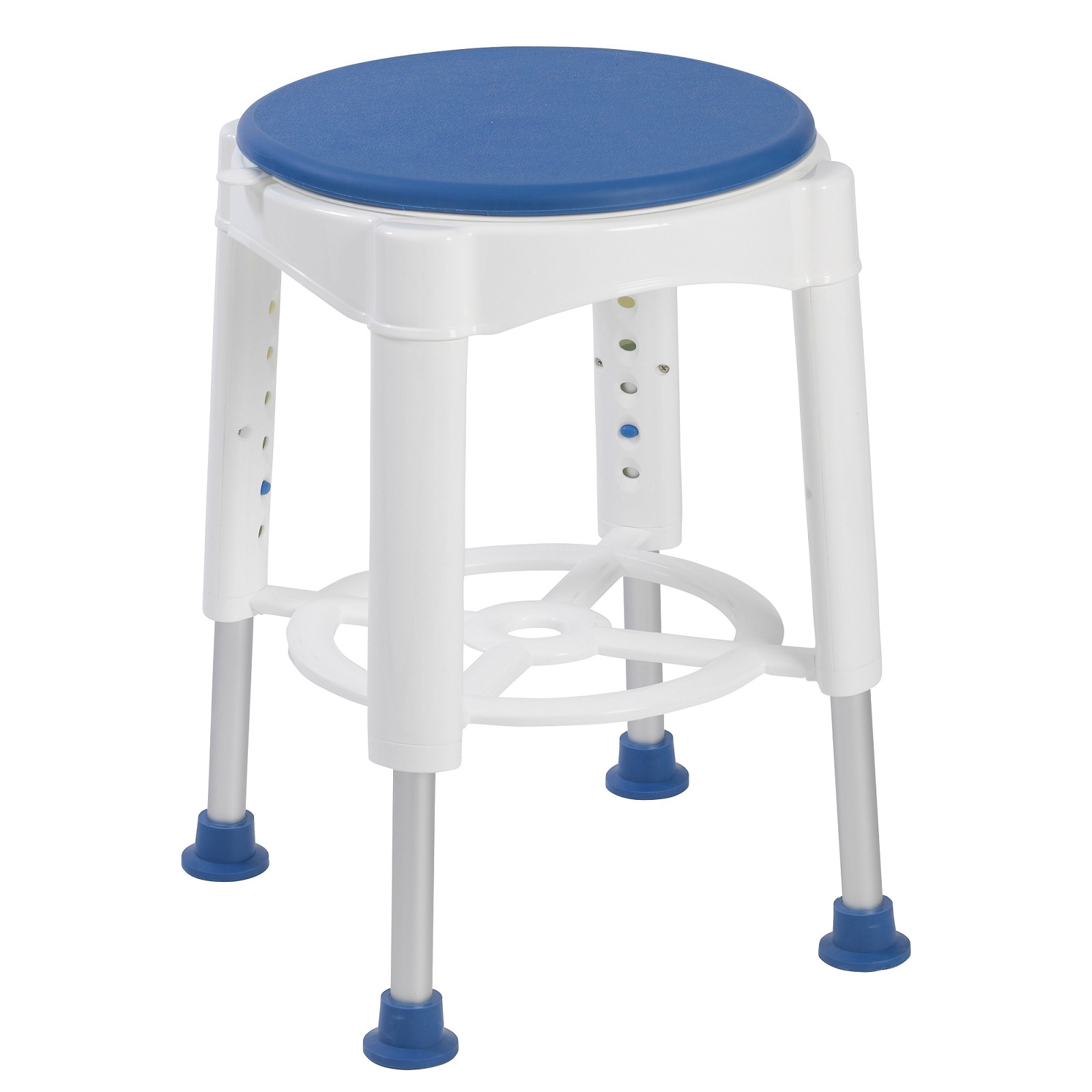 Deluxe Swivel Shower Stool With Padded Seat Elite Care